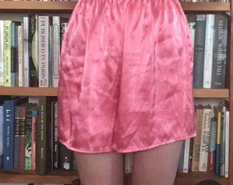 Silky Pink Tap Shorts