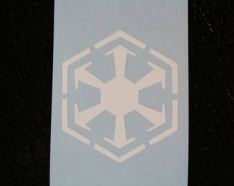 Star Wars SITH Empire Decal Any Size Any Colors