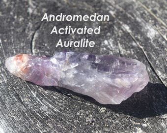 Activated ET Auralite ~ Andromeda   Ideal for starseeds, Third Eye Activation, Past life Memory Recall, Very Powerful