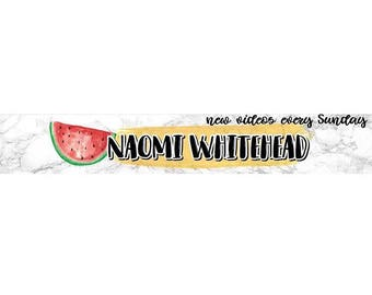 Watermelon Channel Banner