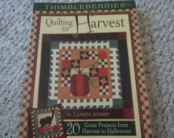 Quilting for Harvest by Thimbleberries