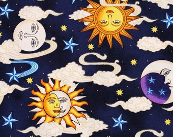 Celestial Sun Moon Etsy
