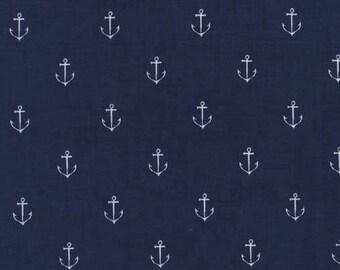 Michael Miller- Anchors Away in Navy- Sarah Jane