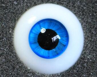 Bluebird - Handmade Sapphire BJD Glass Eyes (B02) | 12mm, 14mm, 16mm, 18mm