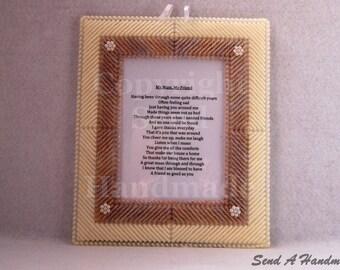 My Mum, My Friend - Poem Frame