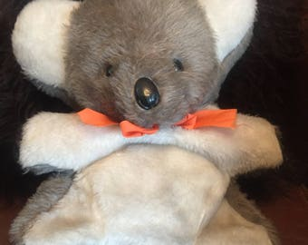 vintage rare Chad Valley teddy/koala/nightdress case/straw filled