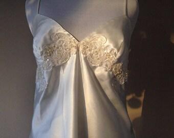 S / Victoria's Secret White Babydoll Nightie Lingerie / Small