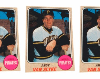 5 - 1993 Sports Cards #1 Andy Van Slyke Baseball Card Lot Pittsburgh Pirates