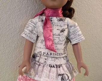 French-Style Dressing for Journey Girls, American Girl and 18 inch Dolls