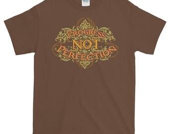 Progress Not Perfection t-shirt  PLUS