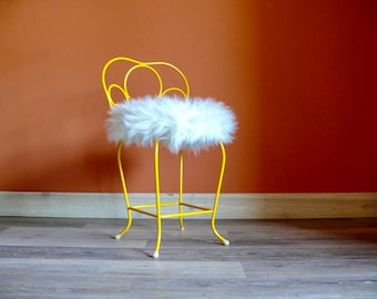 Vanity stool | Etsy