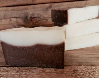Vanilla Bean Soap - Shea Butter, Coconut, Olive Oil - Artisan, Cold Process Soap - Vegan