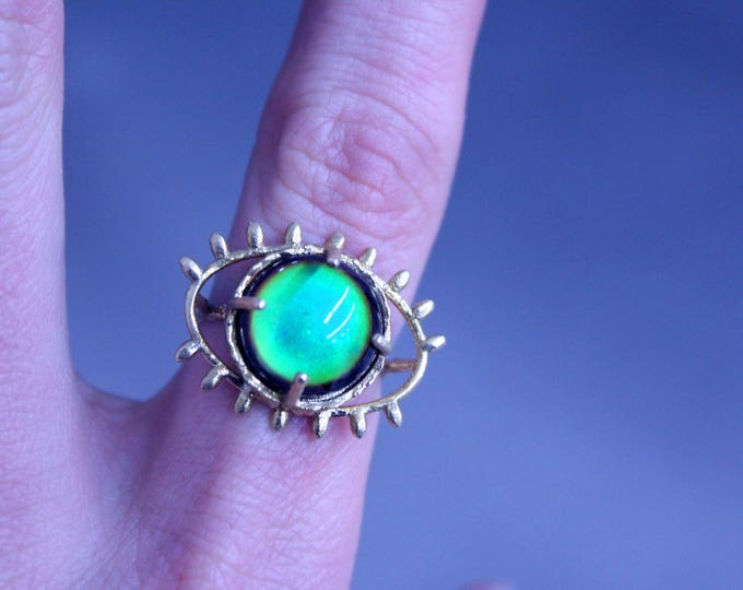 Featured listing image: third eye mood ring
