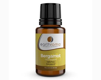 Bergamot Essential Oil 5 mL, 15 mL, 30 mL | 100% Pure Therapeutic Grade