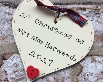 first christmas as Mr and Mrs | first married christmas | 1st Christmas as Mr & Mrs | first married christmas | 1st married Christmas