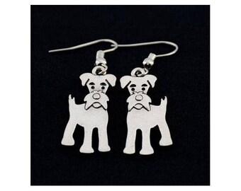 Schnauzer Charm Earrings