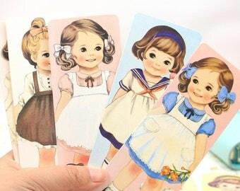 Girl bookmark