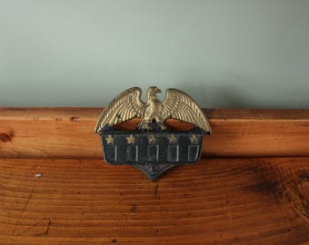Patriotic Eagle Matchbox Holder