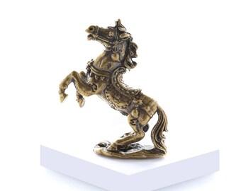 Miniature Brass Horse