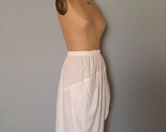 20% OFF SALE... grecian white wrap skirt | rayon midi skirt