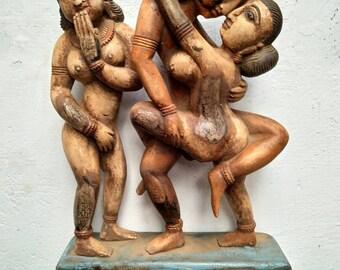 Kamasutra Sculpture/ Erotic Art Sculptures/ Erotic Art/ Valentine's Day Gift