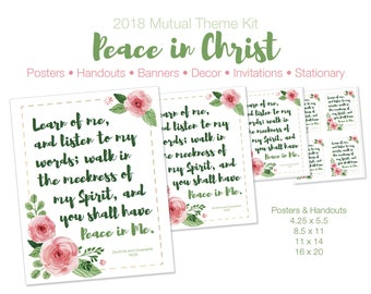 2018 LDS Youth Theme Kit
