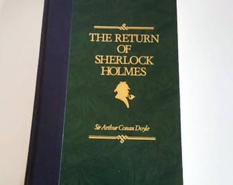 The Return of Sherlock Holmes by Sir Arthur Conan Doyle  Hardcover