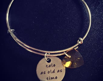 Tale as old as time bracelet