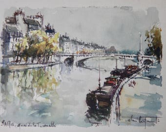071 - Bridge over The Seine