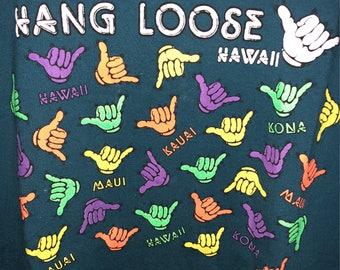 Vintage Hawaii Hang Loose shirt XL