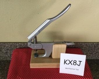 Wood base for KX8J multifunction pliers