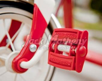 Radio Flyer Tricycle Detail Digital Download Image