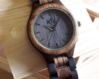Mens watches, Wooden Watches, personalized watch, engraved watch, Grooms gift, Wood watches, personalized gifts, boyfriend gift, TOP800