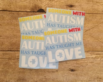 Autism Decal, Autism Awareness, Puzzle Piece Decal, Autism Sticker, Autism Car Decal, Puzzle Piece Car Decal, Autism Cup Decal Autism Puzzle
