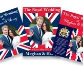 Royal Wedding Poster, Favor, Printable