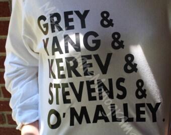 Grey's Anatomy Long Sleeve Shirt
