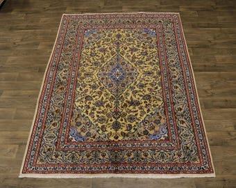 Stunning Unique S Antique Mashad Persian Rug Oriental Area Carpet Sale 6'7X9'5