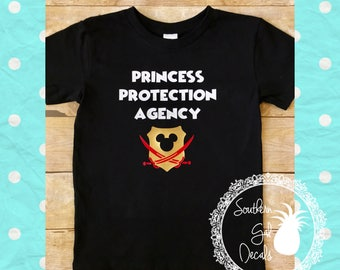 PPA Princess Protection Agency Shirt - Disney Pirate Inspired