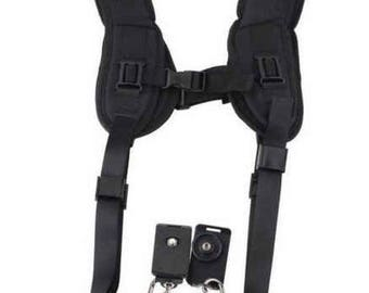 Camera Double Sling Photography Accessories Dual Camera Sling Camera Neck Support