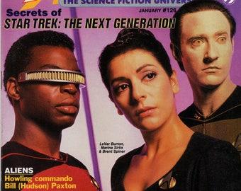 STARLOG Star Trek The Next Generation Magazine #126 January 1988 Issue