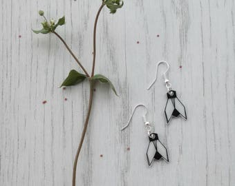 Origami Fly Earrings