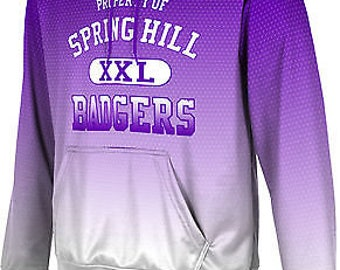 ProSphere Men's Spring Hill College Zoom Pullover Hoodie (SHC)