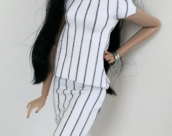12 inch fashion doll outfit