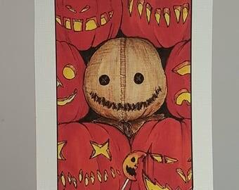 Villain Clans Sam (Trick 'r' treat) - A6/A5/A4 print on acrylic paper