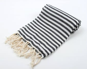 SALE 50%OFF! VENICE Turkish Towel - For Beach, Bath and Yoga