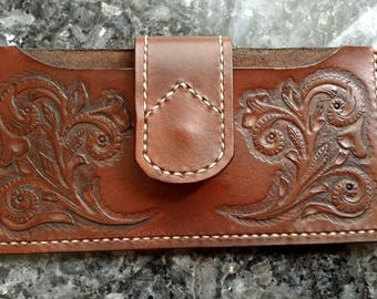 Leather Phone Case, Leather Carved Phone Case, Phone Case Holster, Phone Case, Leather Phone Holster, Phone Holster