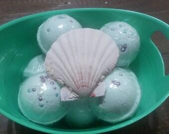 Mini Mermaid Bath Bombs 4 for 10!