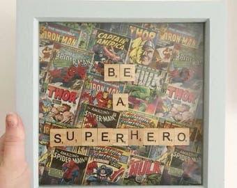 Super hero frame
