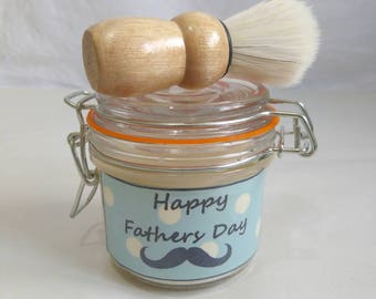 Fathers day shaving soap set