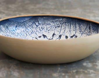 Handbuilt statement bowl